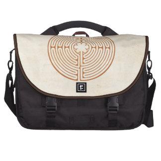 Chartres Labyrinth Computer Bag