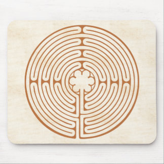 Chartres Labyrinth Mouse Mat