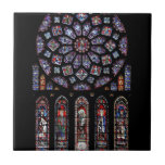 CHARTRES VI STAINED GLASS CERAMIC TILES