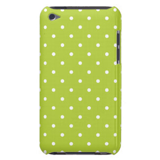 Chartreuse 50s Style Polka Dot iPod Touch G4 Case