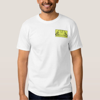 Chartreuse & Black Monogram Filigree T-shirt