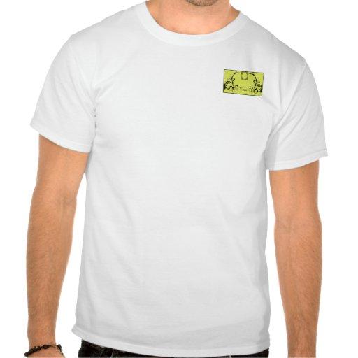 Chartreuse & Black Monogram Filigree Shirt