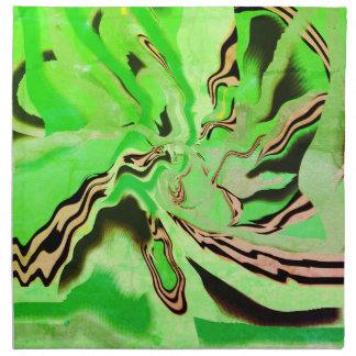 Chartreuse Green Cloth Dinner Napkins or Serviette