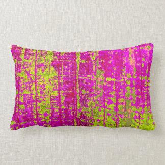 Chartreuse Kiss Lumbar Pillow