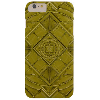 Chartreuse mandala barely there iPhone 6 plus case