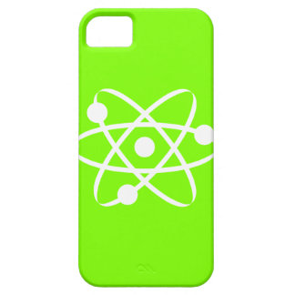 Chartreuse, Neon Green Atom iPhone 5 Cases