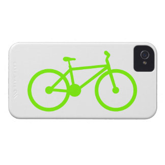 Chartreuse, Neon Green Bicycle iPhone 4 Cases