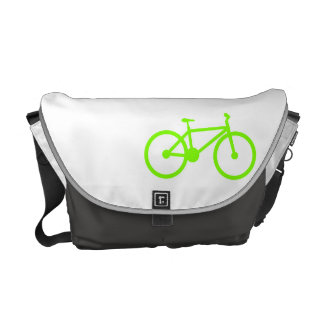 Chartreuse Neon Green Bicycle Messenger Bags