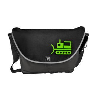 Chartreuse, Neon Green Bulldozer Messenger Bag