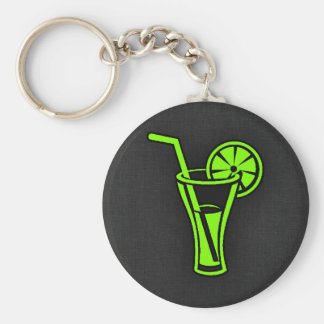 Chartreuse, Neon Green Cocktail Keychain