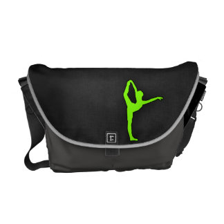 Chartreuse Neon Green Courier Bag