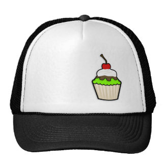 Chartreuse, Neon Green Cupcake Cap