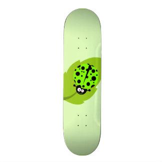 Chartreuse, Neon Green Ladybug Skate Decks