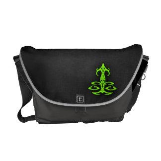 Chartreuse, Neon Green Libra Messenger Bag