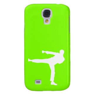 Chartreuse, Neon Green Martial Arts Galaxy S4 Case