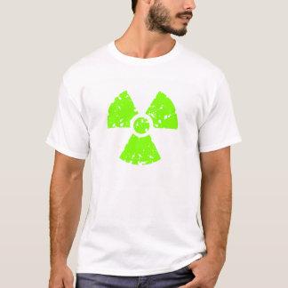 Chartreuse, Neon Green Radioactive Symbol T-Shirt