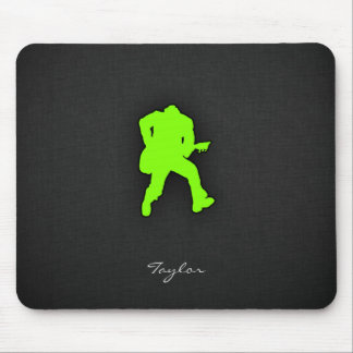 Chartreuse, Neon Green Rocker Mouse Pad