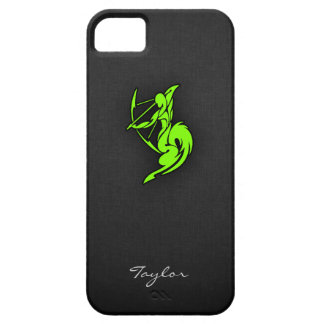 Chartreuse, Neon Green Sagittarius iPhone 5 Cases