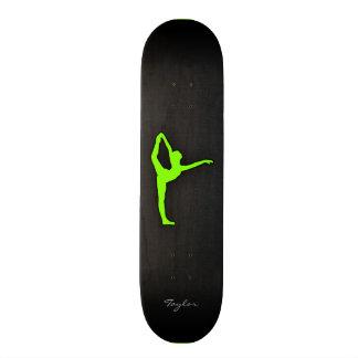 Chartreuse Neon Green Custom Skateboard