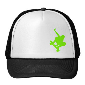 Chartreuse, Neon Green Skater Cap