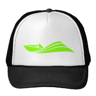 Chartreuse, Neon Green Speed Boat Cap