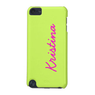 Chartreuse Solid Color iPod Touch (5th Generation) Cover