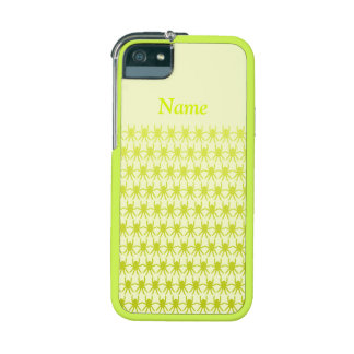 Chartreuse yellow spiders Personalise-It Case For iPhone 5