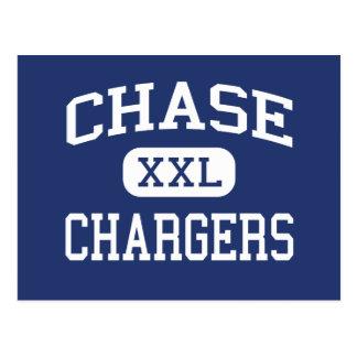 Chase Chargers middle Spokane Washington Postcard