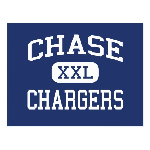 Chase Chargers Middle Spokane Washington Post Cards