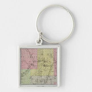 Chase County, Kansas Key Ring