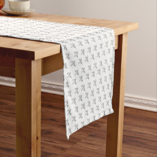 Chasin' Unicorns Geometric Crystal Unicorn Pattern Short Table Runner