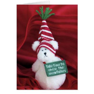 Chasing Snowflakes Card