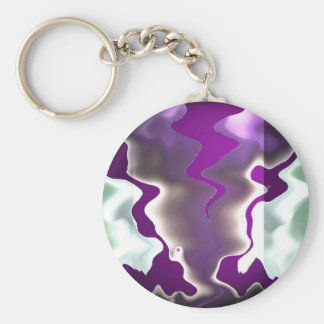 Chasing Storms and Sea Waves Keychain