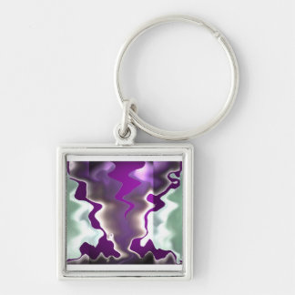 Chasing Storms and Sea Waves Key Chain