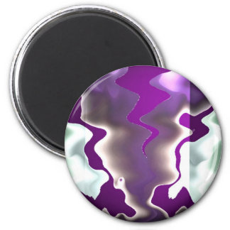 Chasing Storms and Sea Waves Fridge Magnet