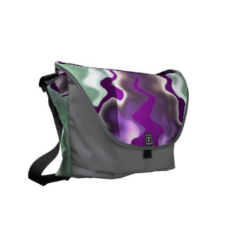 Chasing Storms and Sea Waves Courier Bags