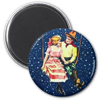 Chasing the Moon Fridge Magnet
