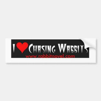 Chasing Wabbits Bumper Stkr Bumper Sticker