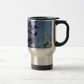 Chaste Tree Purple Flowers Travel Mug