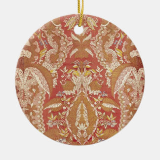 Chasuble, lace patterned silk, French, c.1720 Christmas Ornament