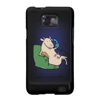 chat black samsung galaxy SII covers