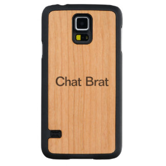 Chat Brat.ai Carved® Cherry Galaxy S5 Case