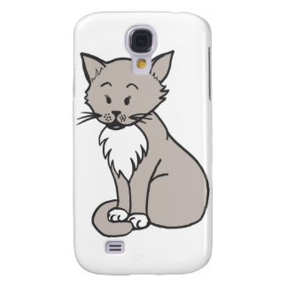 Chat gris galaxy s4 covers