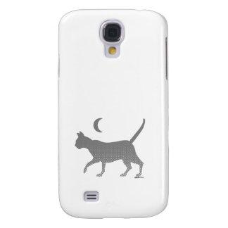 chat gris sous la lune coque HTC Vivid/Raider