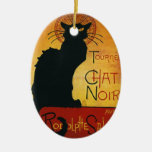 Chat Noir - Black Cat Ornament