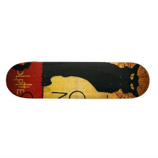 Chat Noir - Black Cat Skateboard