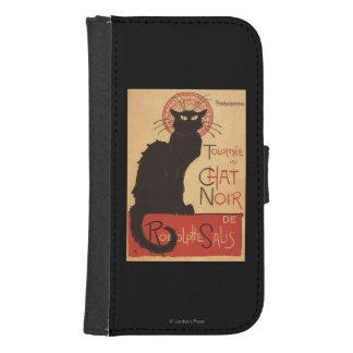 Chat Noir Cabaret Troupe Black Cat Promo Poster Samsung S4 Wallet Case