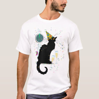 Chat Noir New Years T-Shirt
