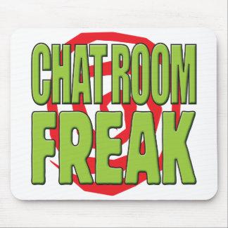 Chat Room Freak G Mousemats