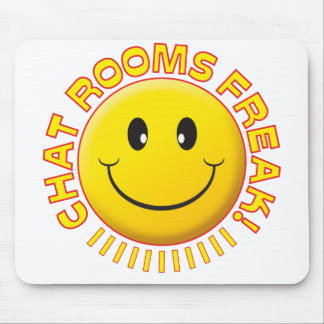 Chat Rooms Freak Smile Mouse Mat